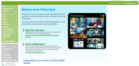 Try Out Ucviews Free Digital Signage Software Blog