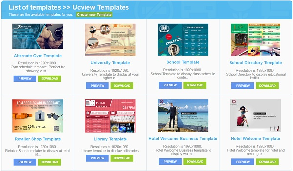 Ucview software feature change log blog for Free microsite templates