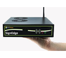 Digital signage standalone player