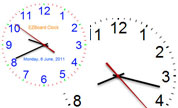 Clock for Digital Signage Content