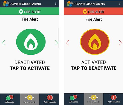 UCView's Global Alert –Digital Signage Safety CAP