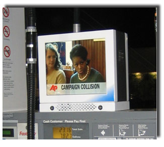 Gas Stations Digital signage