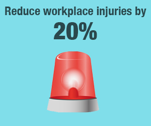 Digital signage make workplace safer