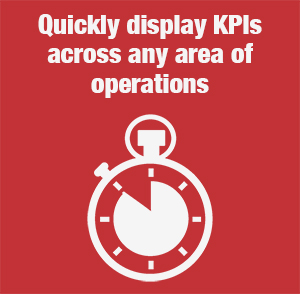 Digital Signage can display most current and up to date information in the workplace