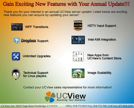 Gain New Features and Upgrades by Updating Your Server