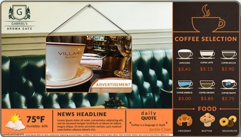 Digital Menu Boards Are Vital For Restaurant Sales