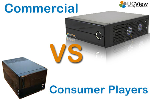 Consumer Vs Commercial Players