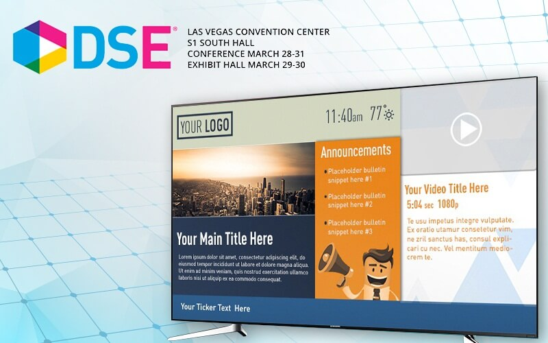 Visit UCView at Digital Signage Expo 2017