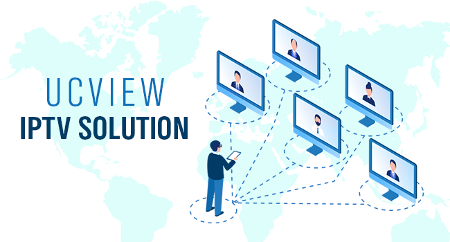 UCView Releases IPTV Solution