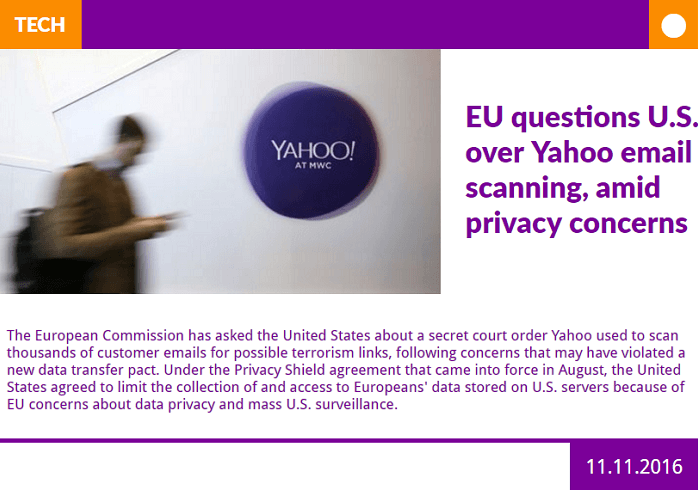 Display Yahoo U.S. News HTML5 Digital Signage with a Stylish New Layout