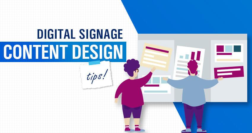 Digital Signage Content Design Tips