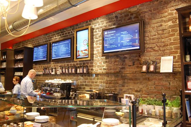 Digital Menu Cafeteiro