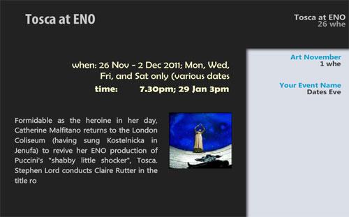EZ Event Digital Signage Content