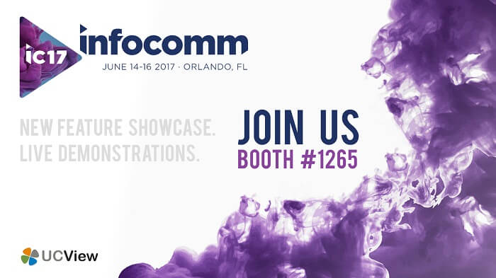 UCView to Exhibit Digital Signage Software at InfoComm 2017