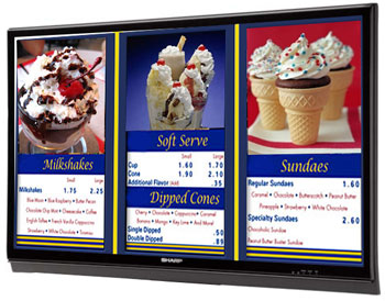 UCVIEW DIGITAL SIGNAGE MENU BOARD