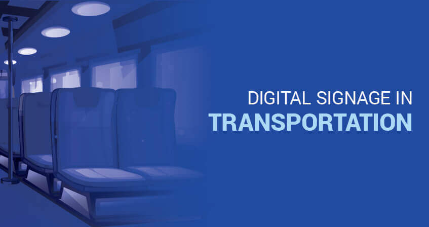 Digital Signage In Transportation