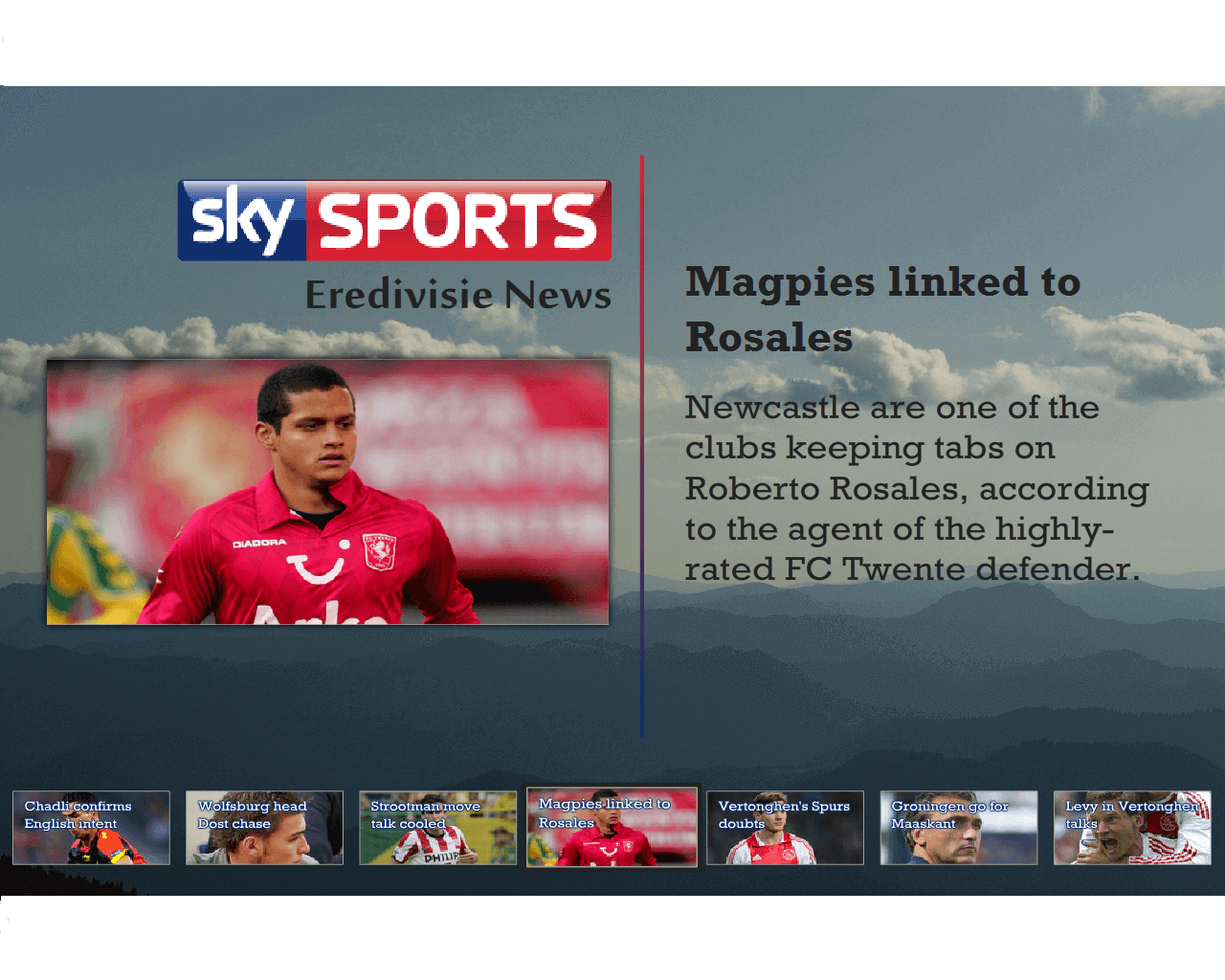UCView Launches Sky Sports News App