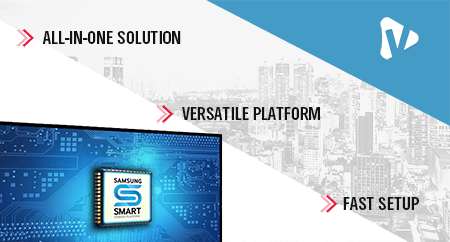 All In One Signage Solution With Samsung SSP