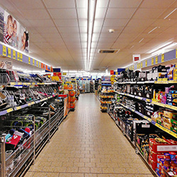Digital Signage for Supermarkets