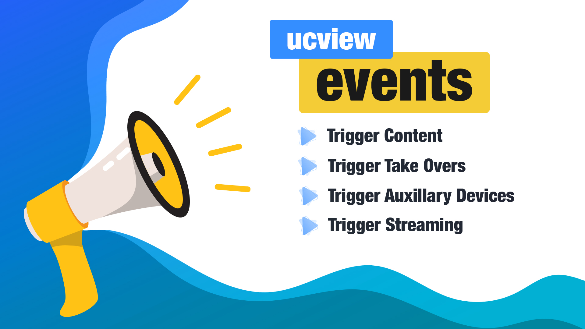 UCView Event Trigger